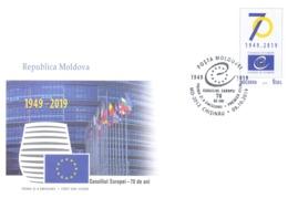 2019. 70 Years Of  Council Of Europe, FDC,  Mint/** - Europäischer Gedanke
