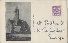 Parochie St-Antonius Van Padua Te Balgerhoeke.  -   Kerk Voor De Verwoesting. - Eeklo