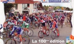7250 CP Cyclisme Paris Tours La 100e édition - Cyclisme