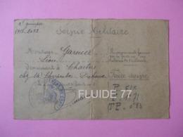 @ DOCUMENT:SERVICE MILITAIRE- CONVOCATION ( Commission Spéciale De Réforme ) 29 Mai 1917 @ - Documents
