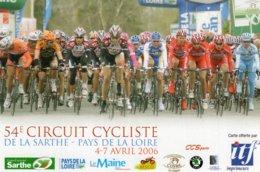 7253 CP Cyclisme 54e Circuit De La Sarthe - Cyclisme