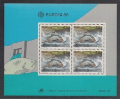 A 11 ) Free Shipping To  // Portugal 1986 Europa CEPT Umweltschutz / Environmental Protection - 1986