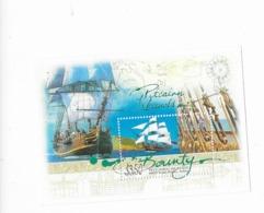 """Pitcairn Bloc Feuillet N° 32** """"Grand Voilier Historique Le HMAV Bounty"""" - Islas De Pitcairn"""