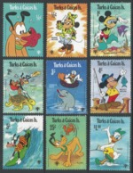 Turks & Caicos Islands. 1979 International Year Of The Child. MH Complete Set. SG 575-583 - Turks And Caicos