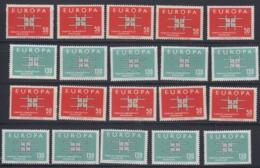 Europa Cept 1963 Turkey 2v (10x) ** Mnh (44931) - Europa-CEPT