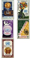 Ref. 609811 * MNH * - QATAR. 1970. 25th ANNIVERSARY OF THE UNITED NATIONS . 25 ANIVERSARIO DE LAS NACIONES UNIDAS - Qatar