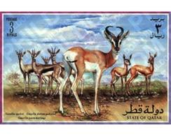 Ref. 54661 * MNH * - QATAR. 1996. GAZELLES . GACELAS - Qatar
