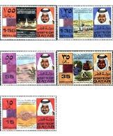 Ref. 42241 * MNH * - QATAR. 1973. 2nd ANNIVERSARY OF INDEPENDENCE . 2 ANIVERSARIO DE LA INDEPENDENCIA - Qatar