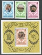 Turks & Caicos Islands. 1981 Royal Wedding. MNH Complete Set & Miniature Sheet. SG 653 - MS 989 - Turks And Caicos