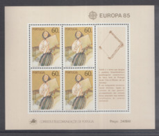 A 11 ) Free Shipping To  //  Portugal 1985 Europa CEPT Jahr Der Musik / Year Of Music - Europa-CEPT