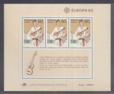 A 11 ) Free Shipping To  //  Madeira 1985 Europa CEPT Jahr Der Musik / Year Of Music - Europa-CEPT