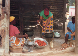 Ghana - Kitchen Scene - Ghana - Gold Coast