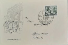 Germany DDR FDC 1955 Leipziger Messe - DDR