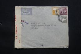 PALESTINE - Enveloppe Commerciale De Haïfa Pour Lisbonne En 1945,avec Contrôle Postal - L 43388 - Palestine