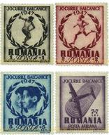 Ref. 355678 * MNH * - ROMANIA. 1947. BALCAN GAMES . JUEGOS BALCANICOS - Atletismo