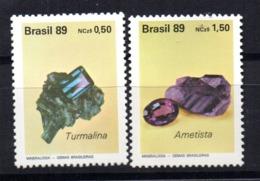 Serie Nº 1927/8  Brasil - Minerales