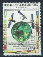 Ivory Coast, RASCOM, Communications Par Satellite, 1994, VFU - Côte D'Ivoire (1960-...)