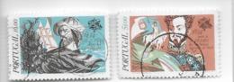 TIMBRES - STAMPS - SELLOS - PORTUGAL - 1984 - DATES HISTORIQUES DE PORTUGAL - GIL EANES - SÉRIE AVEC TIMBRE OBLITÉRÉ - Oblitérés