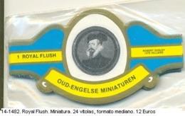 Vitolas Royal Flash. Miniatura. FM. Ref. 14-1482 - Vitolas (Anillas De Puros)