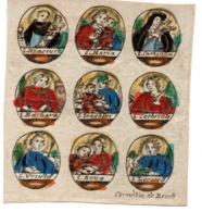 Image Pieuse 18e S.(C. De Boudt) 70 X 62 Mm - Images Religieuses