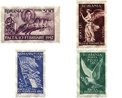Ref. 61847 * MNH * - ROMANIA. 1947. PEACE COMMEMORATION . COMMEMORACION DE LA PAZ - Pferde