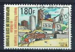 Ivory Coast, 180f., Les Transports à Abidjan, 1996, VFU - Ivory Coast (1960-...)