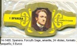 Vitolas Spanera. Forsyth Sage. FP. Amarilla Ref. 14-1485 - Vitolas (Anillas De Puros)
