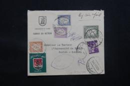 EGYPTE - Enveloppe De L 'Université Du Caire Pour Zurich En 1956, Affranchissement Plaisant - L 43397 - Egypt