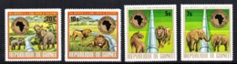 Serie Nº 551/4 Guinee - Sellos
