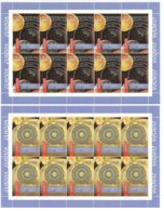 """GEORGIA - EUROPA 2009  -  SUJECT    """"ASTRONOMY"""" -   SET Of 2 Stamps In  TWO SHEETLET Of  10  EACH - Europa-CEPT"""