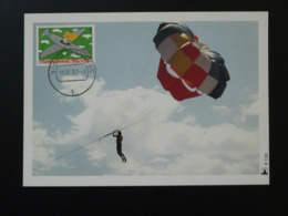 Carte Maximum Card Parachute Pays Bas Netherlands (ref 84440) - Parachutting