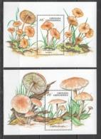 P255 GRENADA GRENADINES PLANTS MUSHROOMS 2BL MNH - Champignons