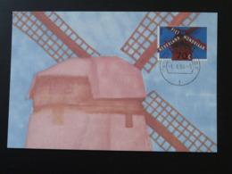 Carte Maximum Card Moulin Windmill Pays Bas Netherlands (ref 84458) - Windmills