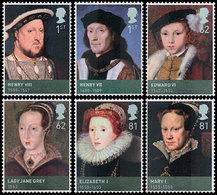 GRANDE-BRETAGNE Tudors,Edward VI 2009 6v Neuf ** MNH - 1952-.... (Elizabeth II)