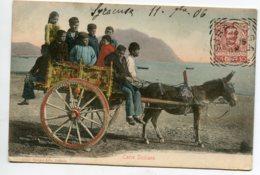 ITALIE Carro Siciliano Villageois Cariole Attelage ANE 1906 écrite De Syracuse No 6012 Stengel    D13 2019 - Other Cities