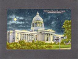 88066    Stati  Uniti,  Night View,  Missouri State Capitol,  Jefferson City,  Missouri,  NV - Etats-Unis