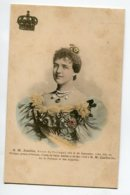 PORTUGAL S.M Amélie Reine  Mariée 22 Mai 1886 à S M Carlos 1er Roi    D13 2019 - Portugal