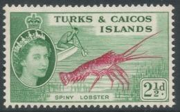 Turks & Caicos Islands. 1957 QEII. 2½d MH. SG 240 - Turks And Caicos