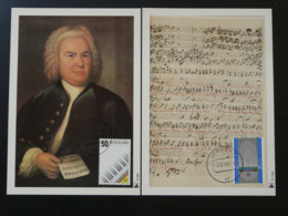 Carte Maximum Card (x2) Musique Music Europa 1985 Pays Bas Netherlands (ref 84486) - Europa-CEPT