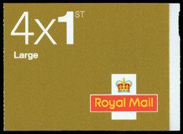 GRANDE-BRETAGNE Carnet Reine,4x1st Large Adh. 2009 Neuf ** MNH - 1952-.... (Elisabeth II.)