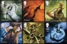 GRANDE-BRETAGNE Créatures De Légendes 2009 6v Neuf ** MNH - 1952-.... (Elisabeth II.)