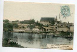33 GUITRES Le Petit Pecheur à La Ligne Promenade Riviere Péniche Halle 1905 Timbrée  No 4343 Guillier   D13 2019 - Autres Communes