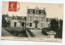 37 ST SAINT DENIS HORS La Mairie Du Bourg écrite 1910 Timb   Voir Dos   D13 2019 - Francia