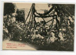 37 AMBOISE Fete Des Fleurs  1910 Char  Edit Audréane Artistic    D13 2019 - Amboise