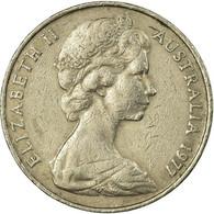 Monnaie, Australie, Elizabeth II, 20 Cents, 1977, TTB, Copper-nickel, KM:66 - Moneda Decimale (1966-...)