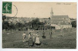 61 ATHIS De L'ORNE Villageois Nouvelle Plantation Arbres 1909 écrite Timbrée    D13 2019 - Athis De L'Orne