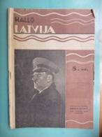 Magazine / Radio Program Ith HItler On Cover / Y 1941 / Latvia - 1939-45