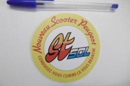 Autocollant Stickers - Nouveau SCOOTER PEUGEOT GT 50L - Autocollants
