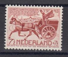 Niederlande 1943 - Tag Der Briefmarke, Mi-Nr. 422, Postfrisch** - 1891-1948 (Wilhelmine)