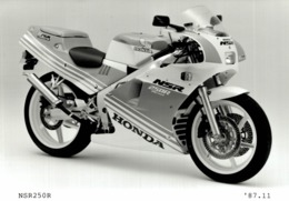 HONDA NSR 250R +- 14cm X 9cm  Moto MOTOCROSS MOTORCYCLE Douglas J Jackson Archive Of Motorcycles - Fotos